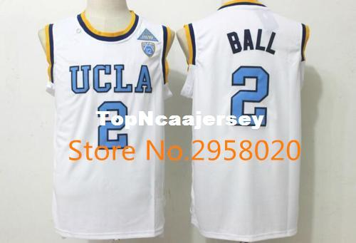2019 Cheap Custom UCLA Bruins  2 Lonzo Ball White Blue Stitched College  University Basketball Jersey From Topncaajersey 4bde08678