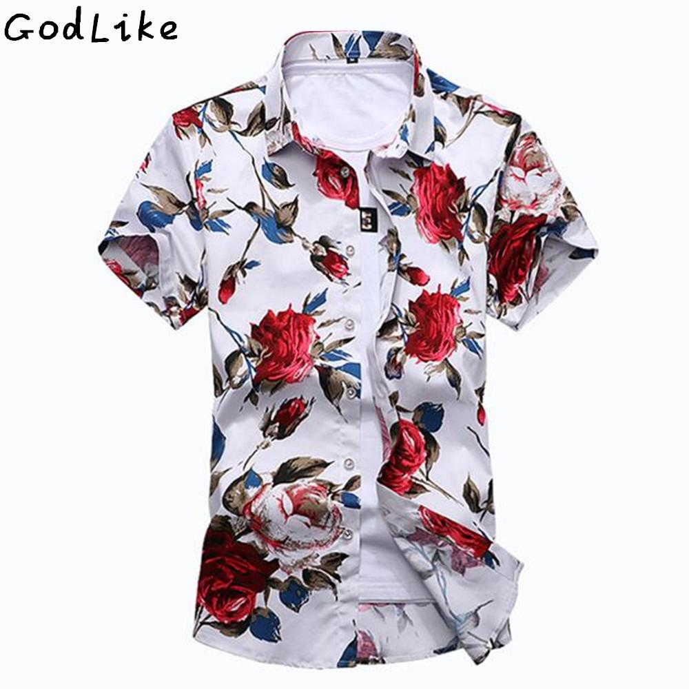2017 Short Sleeve Shirt Men Summer Fashion Casual Plus Size Mens Floral  Shirts High Quality Flower Shirts Mens Social 6XL 7XL S917 UK 2019 From  Ruiqi02 a8eac8aa418a