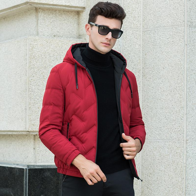 1046c58d19f 2018 New Winter Fashion Brand Duck Down Jacket Men s Korean ...