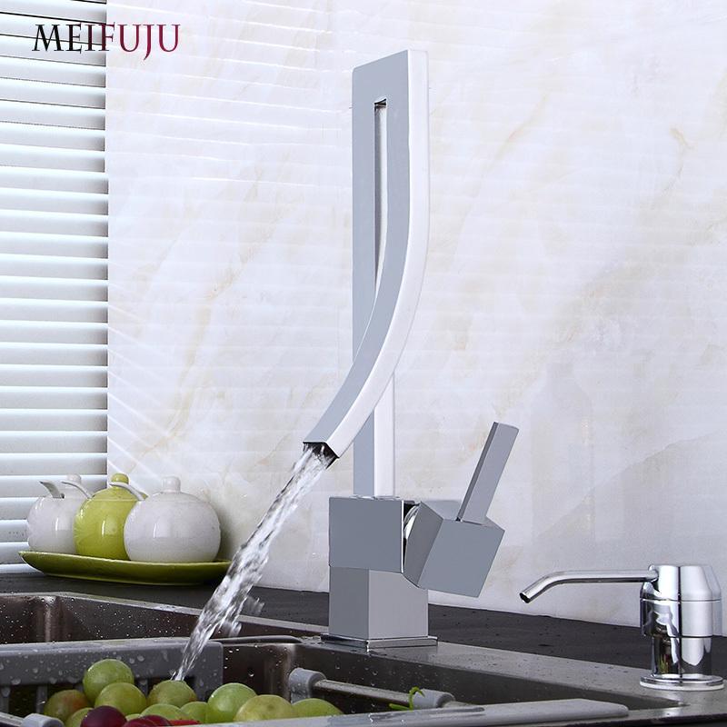 Rubinetti da cucina MEIFUJU Miscelatore da cucina nero Rubinetto girevole  da cucina 360 Rubinetti per lavabo Rubinetti cromo monocomando Rubinetti ...
