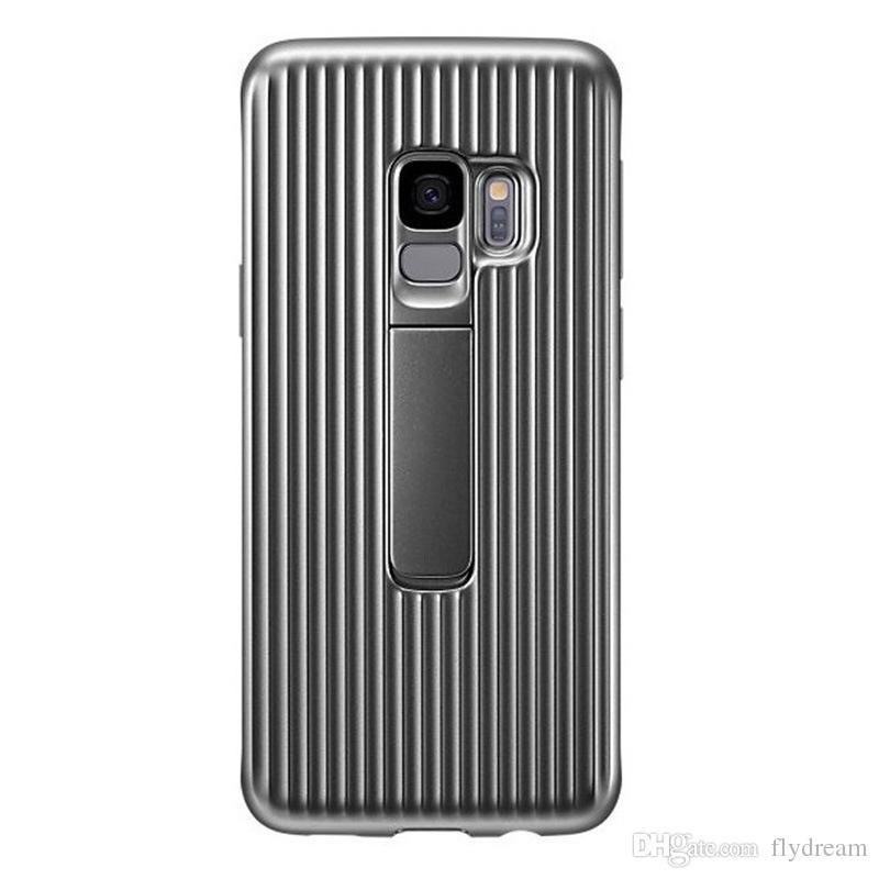 Pour Samsung Galaxy S9 + S9 Plus étui en cuir PU Flip Flip Wallet Téléphone Sacs Couverture