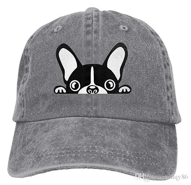 French Bulldog 4 Adult Cowboy Hat Baseball Cap Adjustable Athletic  Personalized Casual Hat For Men And Women Baseball Caps Custom Hats From  Hqy86 0270f3d78f3