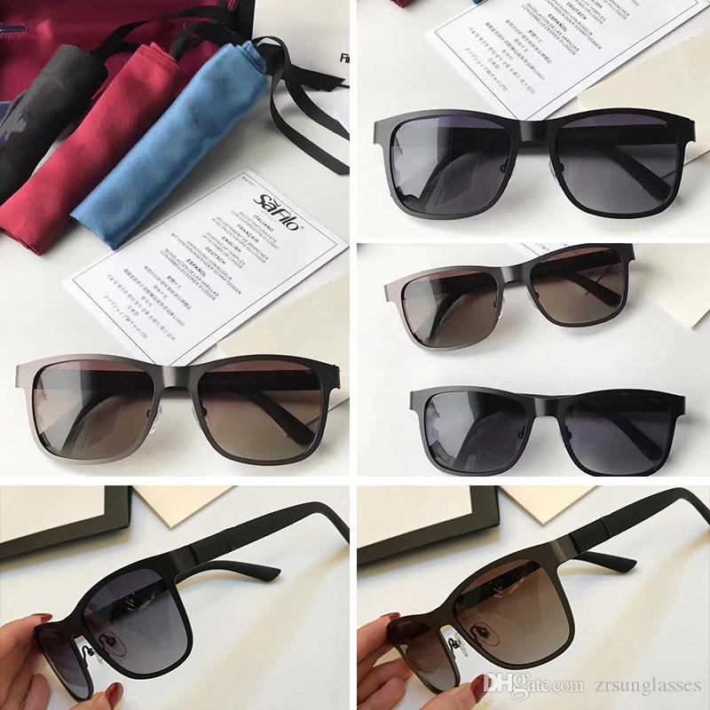 c7f7d452e735b Compre Itália Marca Óculos De Sol GG2247 Mulheres Homem Quadrado Armação  Gucci GG2247 Espelho Óculos De Sol Grande Qualidade Baixo Preço Condução  Óculos ...