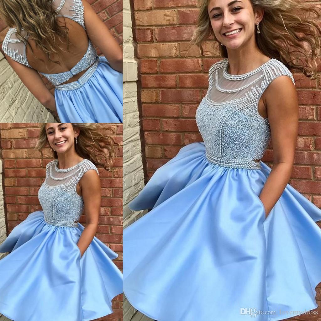 ef4c3af80726 Blue Homecoming Dresses For Sale