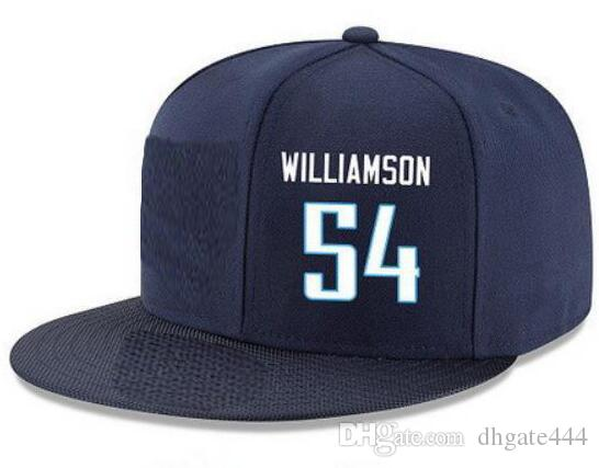 2ab33ec07e8 Snapback Hats Custom Any Player Name Number  54 Williamson Titans  Customized ALL Team Caps Accept Custom Made Flat Embroidery Logo Or Name Caps  Online Hats ...