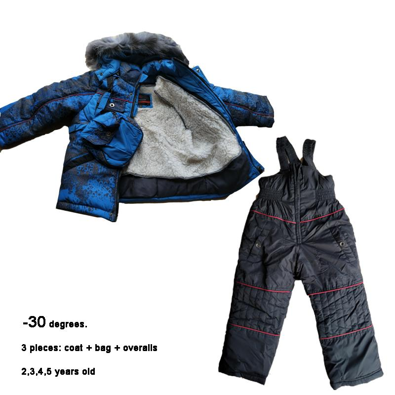 8ce93b14a 30 Snowsuits Kids Winter Sets Age 2 3 4 5 Years Baby Ski Suits ...