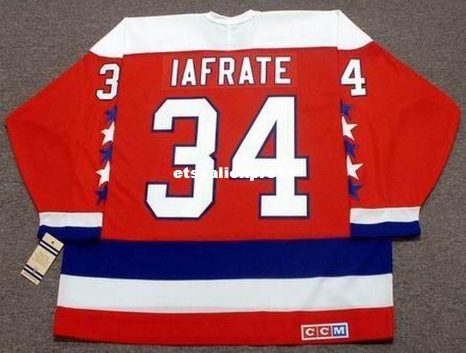 2019 Custom Mens AL IAFRATE Washington Capitals 1992 CCM Jerseys Vintage  Away Cheap Retro Hockey Jersey From Etsyaliexpress b58e4f63434