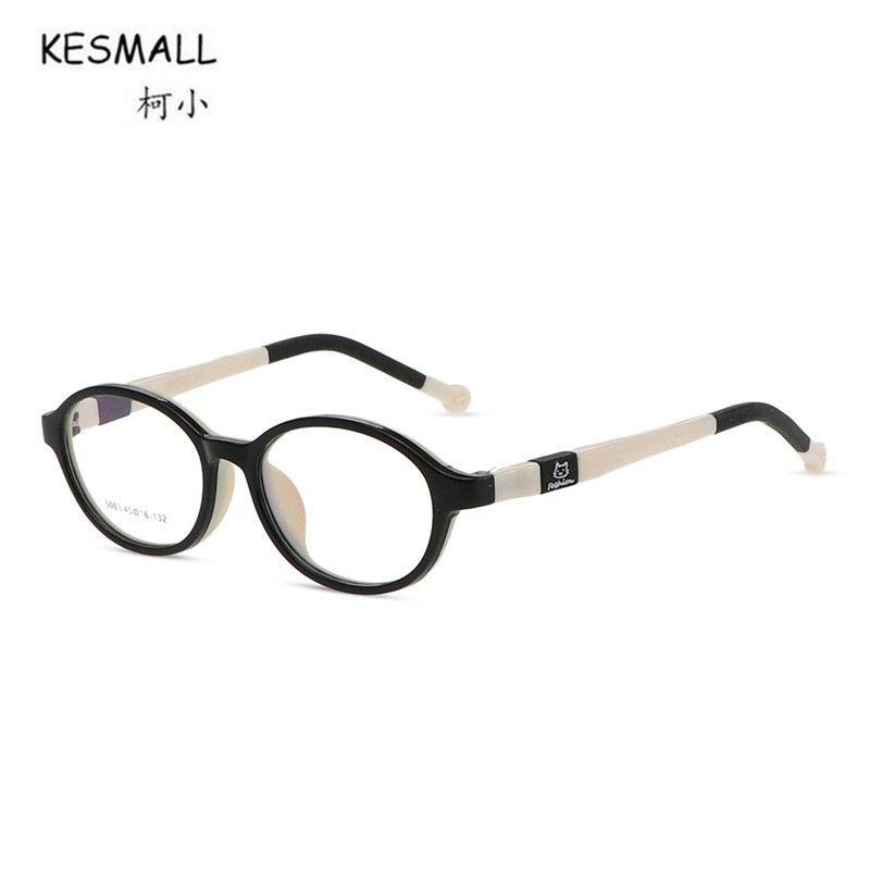 0c6fe24e84ec 2019 KESMALL 2018 New Kids TR90 Eyeglasses Frame Boy Girl Optical Glasses  Frames Fashion Clear Lens Eyewear Occhiali Miopia XN125 From Bojiban