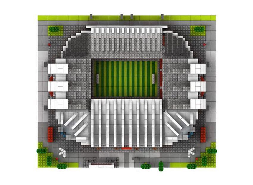 4575 + Architektur Diamant Blöcke 3D Weltberühmten Club Spanien Fußball eingereicht Gebäude Action Figure Juguetes Spielzeug Kinder Geschenk # 065