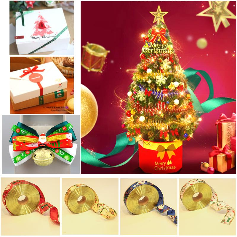 2018 2 meters christmas gift box decorated ribbon bow ribbon old man ribbon christmas tree ornaments ribbon from yangxian520 103 dhgatecom