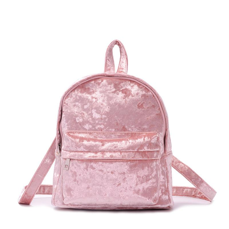 Fashion New Brand Autumn And Winter Women Backpacks Velvet Wool School Bag  For Girls Small Cute Bagpack Fashion Female Back Bag Boys Backpacks  Hydration ... 7d84a7542914a