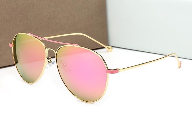 ... От Ультрафиолетового Излучения Серебряные Желтые Розовые Uv400 Линзы  Женщины Мужчины Летный Стиль Солнцезащитные Очки Отoem sunglasses В  Категории ... 6582b8060cf