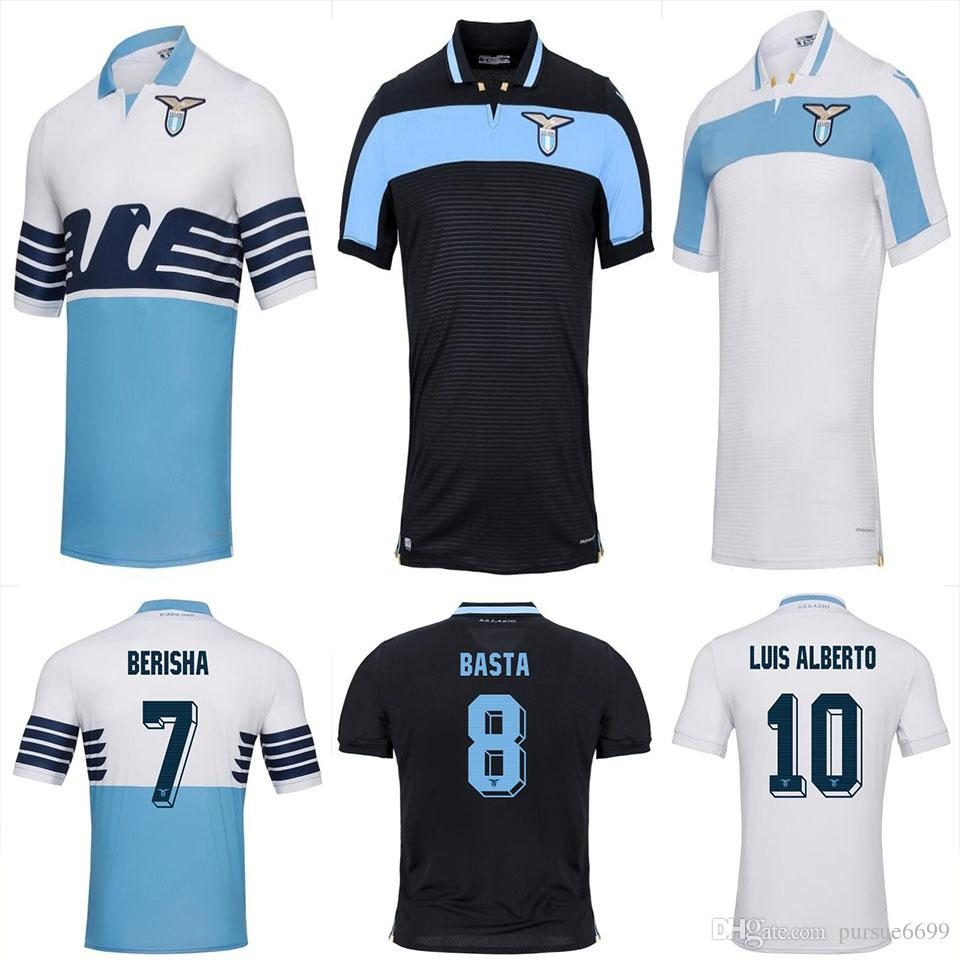 Thai Quality 2018 2019 Lazio Soccer Jersey 18 19 LULIC IMMOBILE SERGEJ  F.ANDERSON Home Away Football Jerseys Shirt Lazio Online with  19.06 Piece  on ... c758d8d31