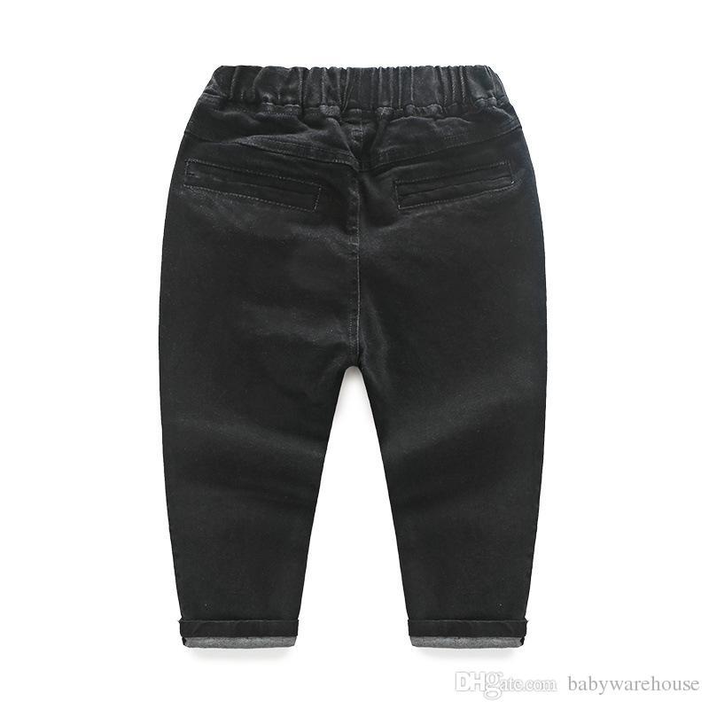 Vendita al dettaglio di vestiti bambini Primavera Autunno Toddler Boys Outfit Baby Boy vestiti Formale Gentleman Suit Plaid Shirt Vest Tie Pants Abbigliamento bambini