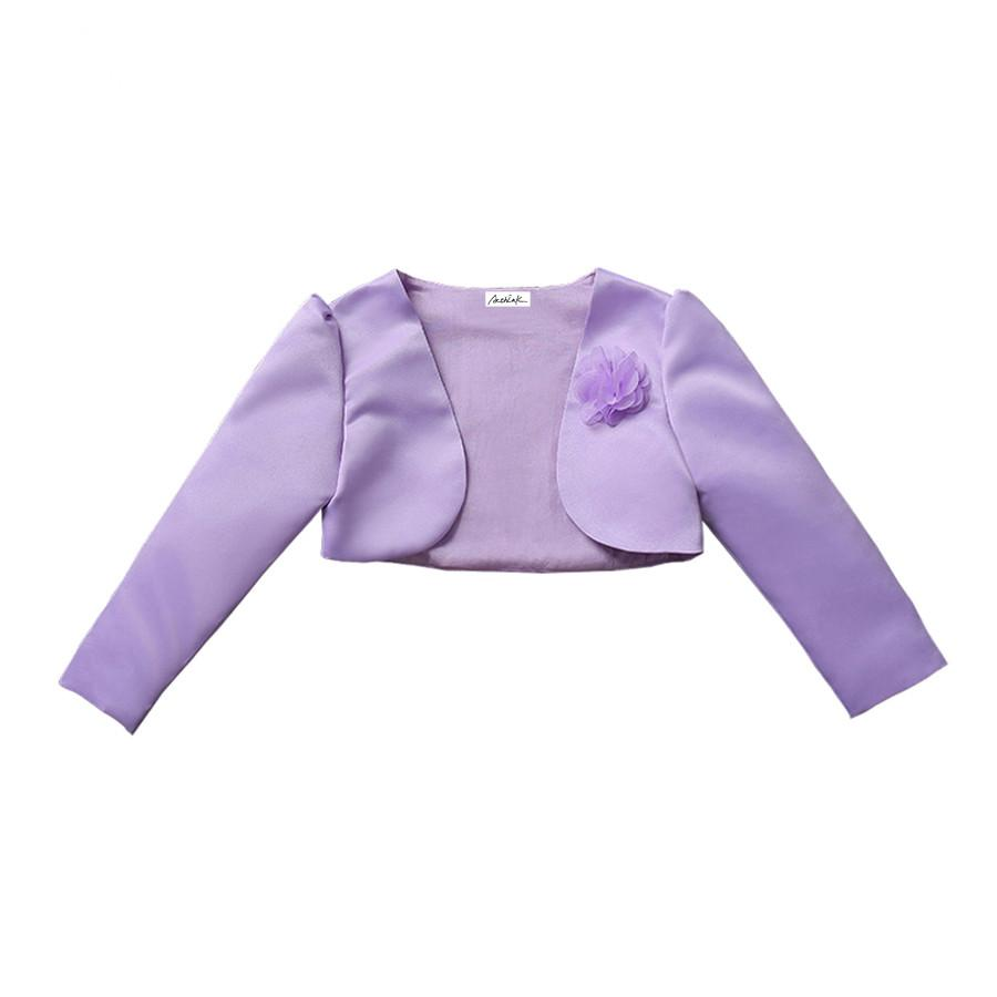 2063e11f4f8f New Baby Girls Bolero Children Formal Short Jacket For Girls 5 ...