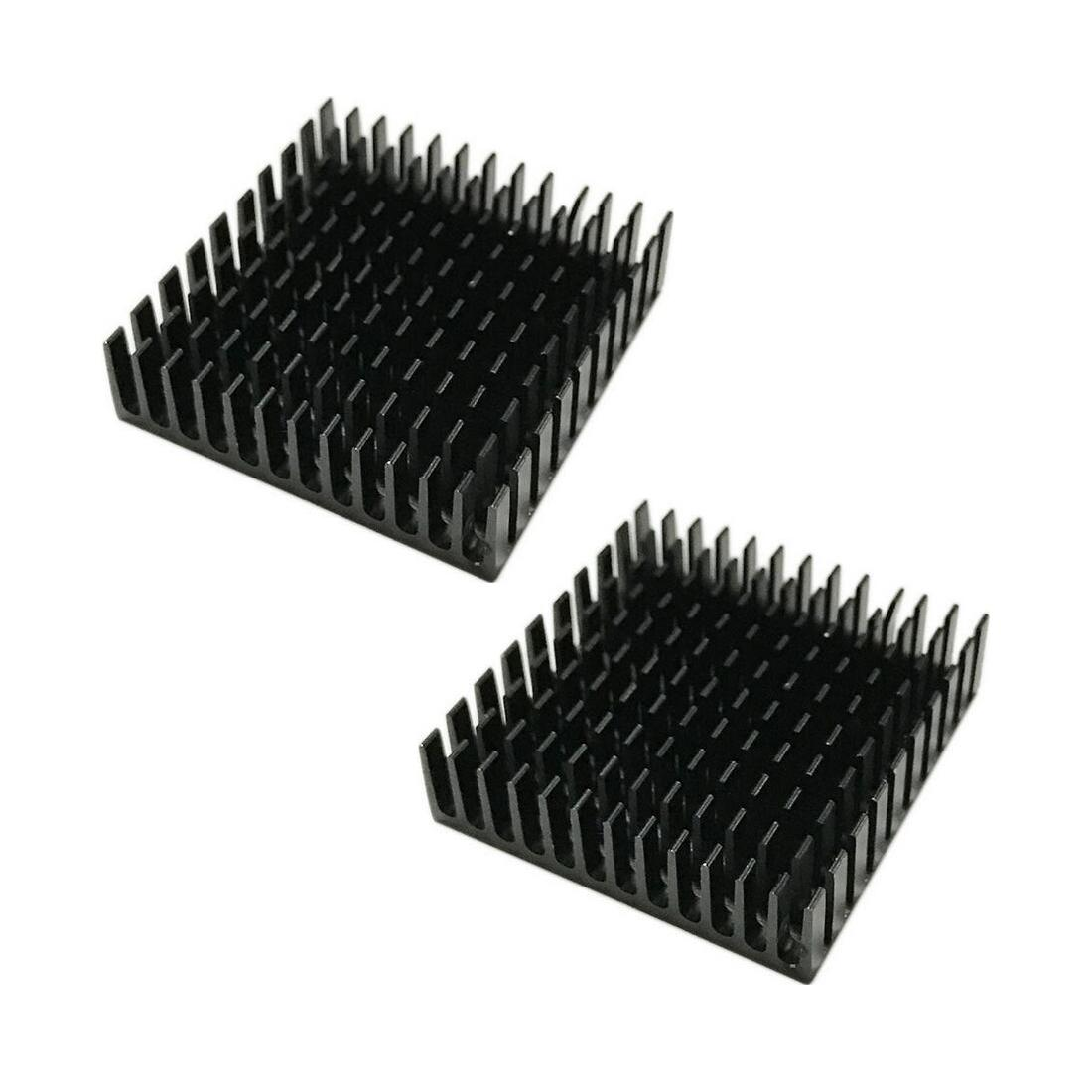 NOYOKERE PRO 40mm*40mm*11mm DIY Cooler Aluminum Heatsink Cooling Fin Heat Sink for LED Power Memory Chip IC Black Color