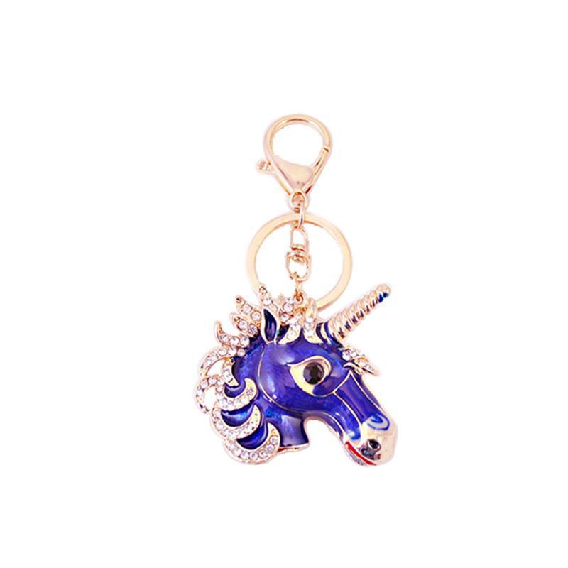 Cute Unicorn Keychain Alloy Rhinestone Car Keyrings Womens Luxury Keychains  Jewelry Girls Bag Charm Key Ring Pendant Gifts Kids Wedding Favors Ladies  Party ... 0997629e4b