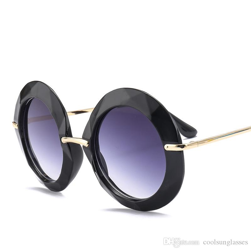 e2d52e036c Oversized Ladies Round Sunglasses Pink Brown Shade Fashion Brand Designer Big  Black Oval Sun Glasses Women Kim Oversized Sunglasses Best Sunglasses For  Men ...