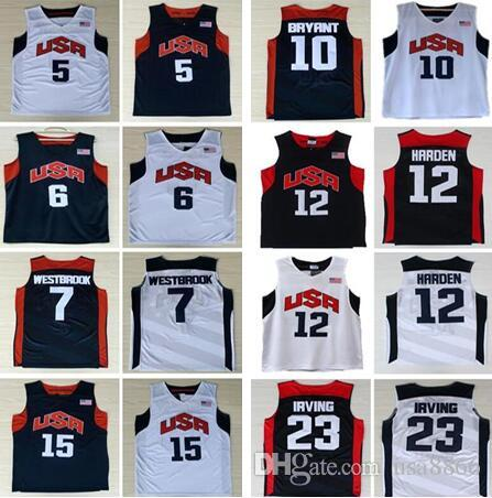 15084168a1b ... switzerland ncaa 2012 olympic games usa dream team 5 kevin durant 6  james 12james harden jersey