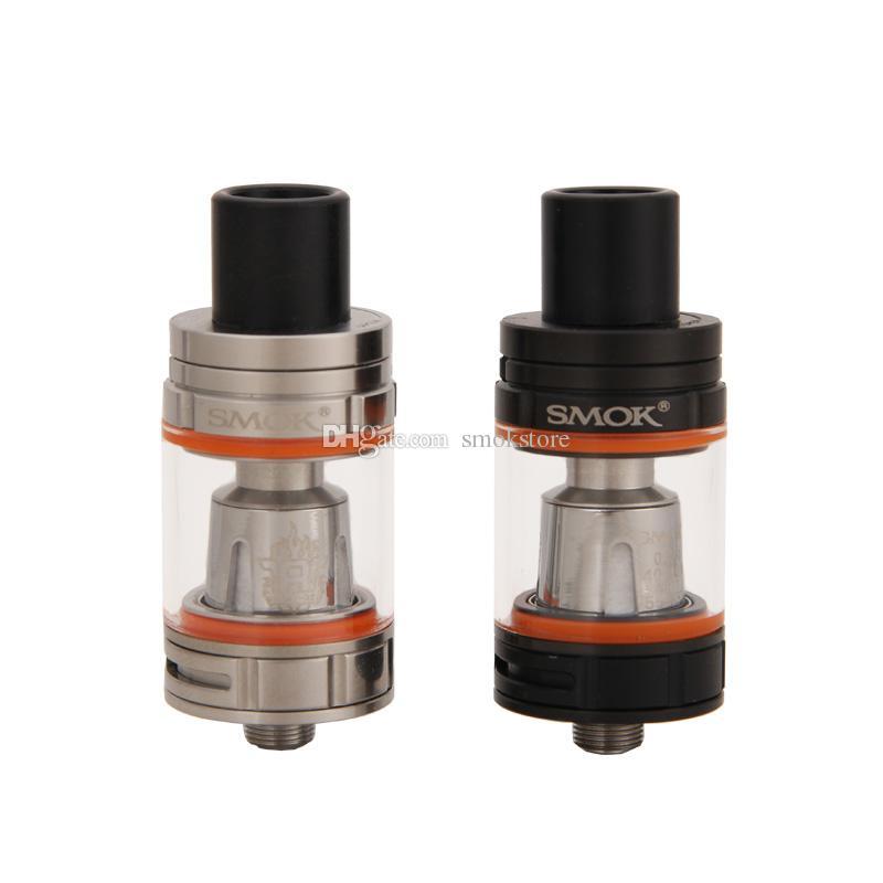 Authentic Smok TFV8 Baby Tank 3.0ml Capacity with V8 Baby Q2 T8 Coil 22mm Atomizer E-Cigarette Tank 510 Vaporizer 100% Original