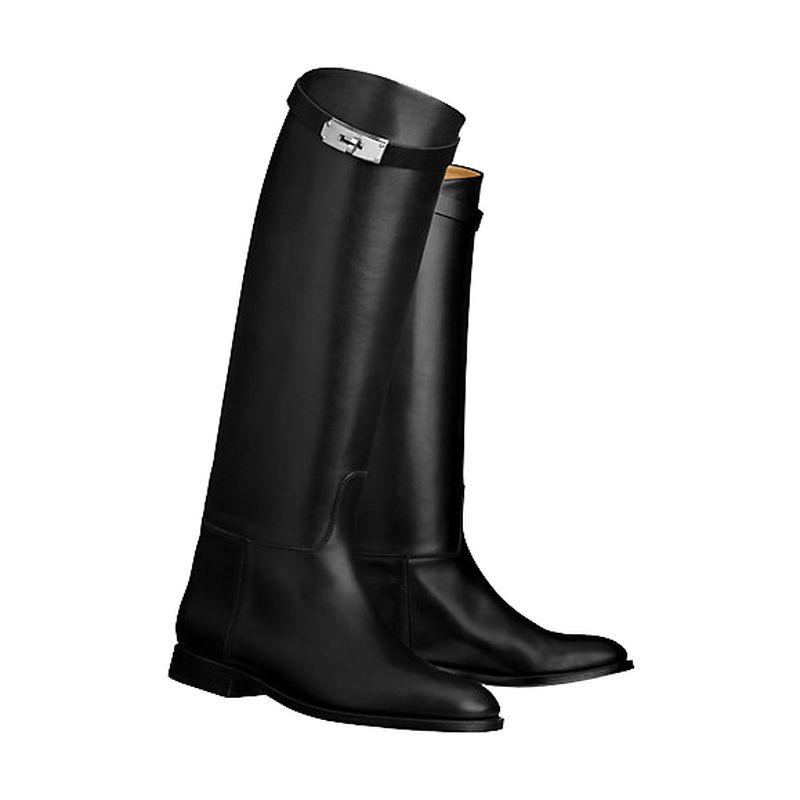 Großhandel Echtes Leder Winterstiefel Frauen Metallschnalle Dame 16 Zoll  Hohe Stiefelabsatz Damen Winterstiefel Luxus Schuhe Designer Von Rowback,  ... 10848f937a