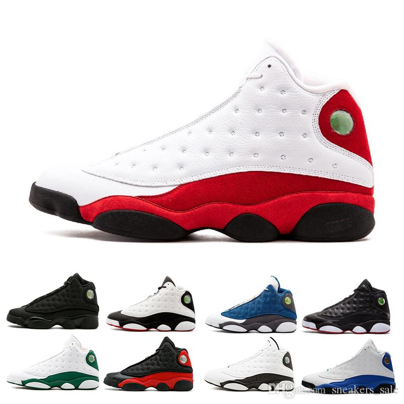 13s mens Chicago Grey Toe basketball shoes bred History Of Flight Melo Class of 2003 sneakers He Got Game trainers shoes for men
