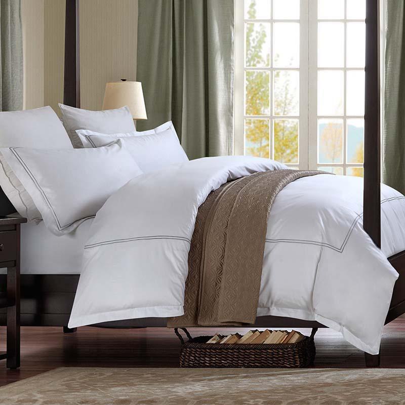 Großhandel Luxus 100 Baumwolle Qualität Stoff 5 Sterne Hotel