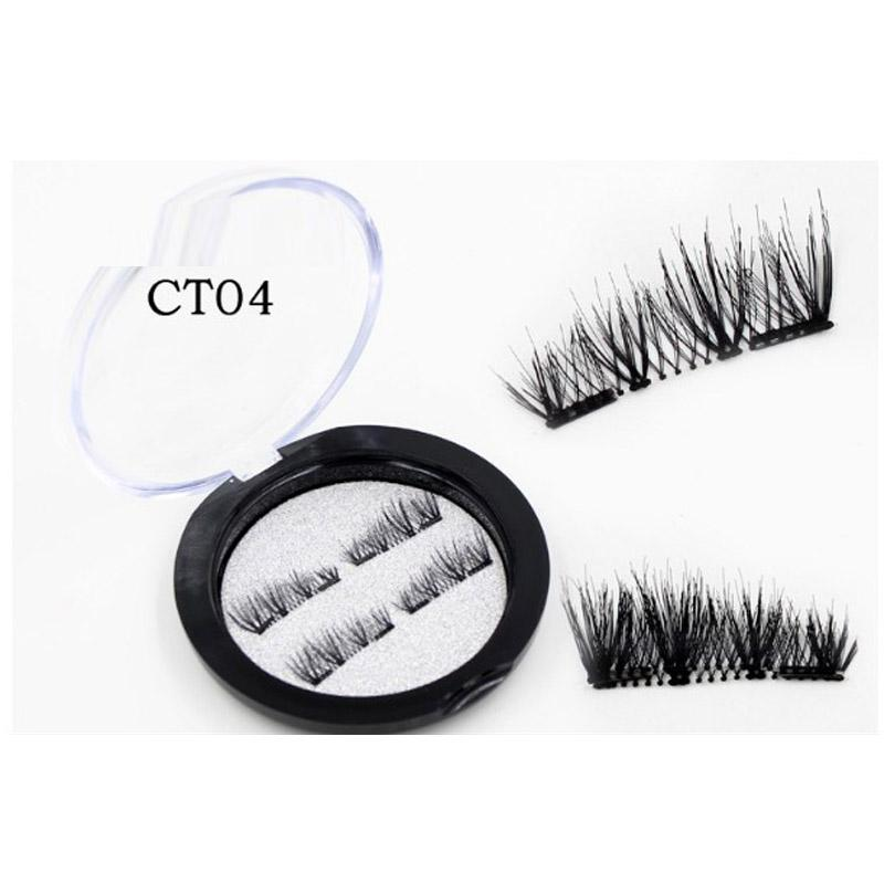 3D Magnetic Lashes Magnet Fake False Eyelash /box Double 3D Ultra-thin Eyelash Extension Soft Makeup Maquiagem Tools