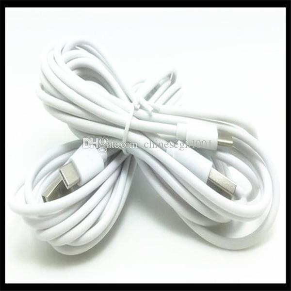 3M 10Ft micro V8 5pin tipo c tipo-c USB cable de carga de datos de datos para samsung s3 s4 s6 s7 edge s8 htc lg