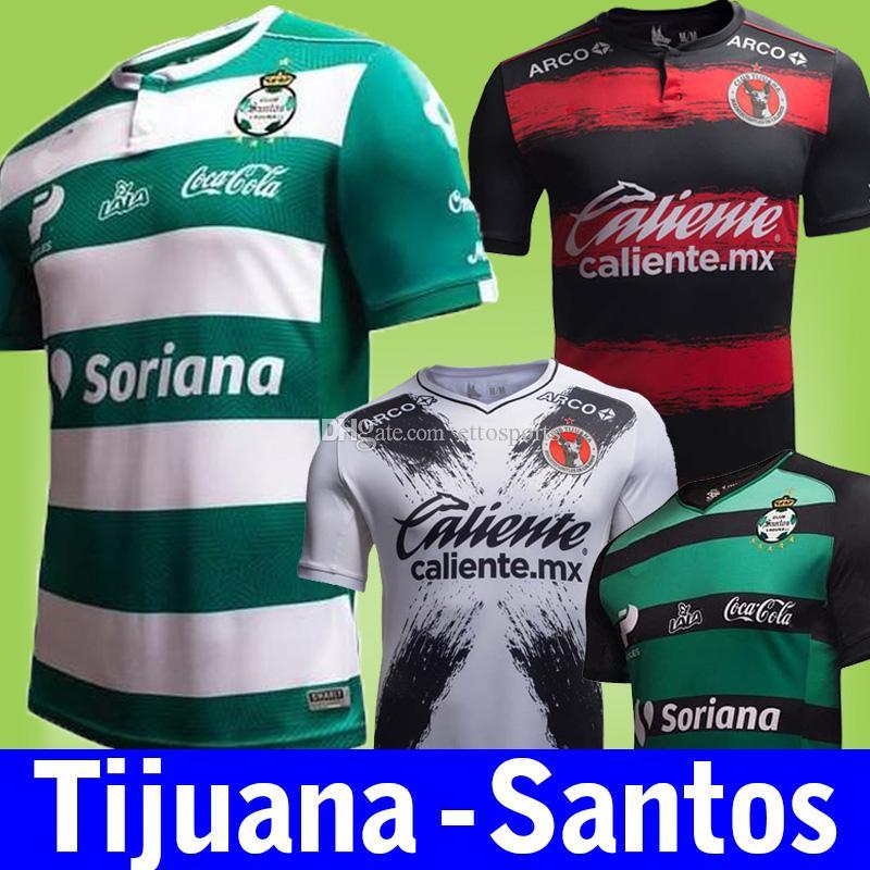 b21f26bf6 New 18 19 Tijuana Soccer Jerseys 2018-19 Santos Laguna Home Away Mx Club Football  Shirt Thai Quality Toluca Tigers Camisetas De Futbol Kids Tijuana Toluca ...