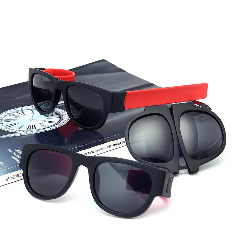 eaf686b3c2 SUERTREE Slap Sunglasses Sunglasses Unisex Outdoor Sport Polarized Folding  UV400 Protection Lens Oculos 6825 Knockaround Sunglasses Sunglases From  Duoyun