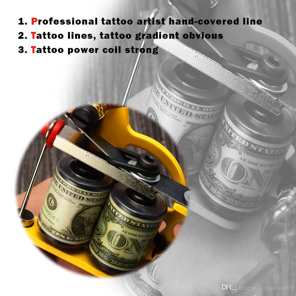 Tattoo Supplies Motor 10 Coil Wrap Tattoo Machine Gun Part Permanent Body Art Professional Tattoo Accesories