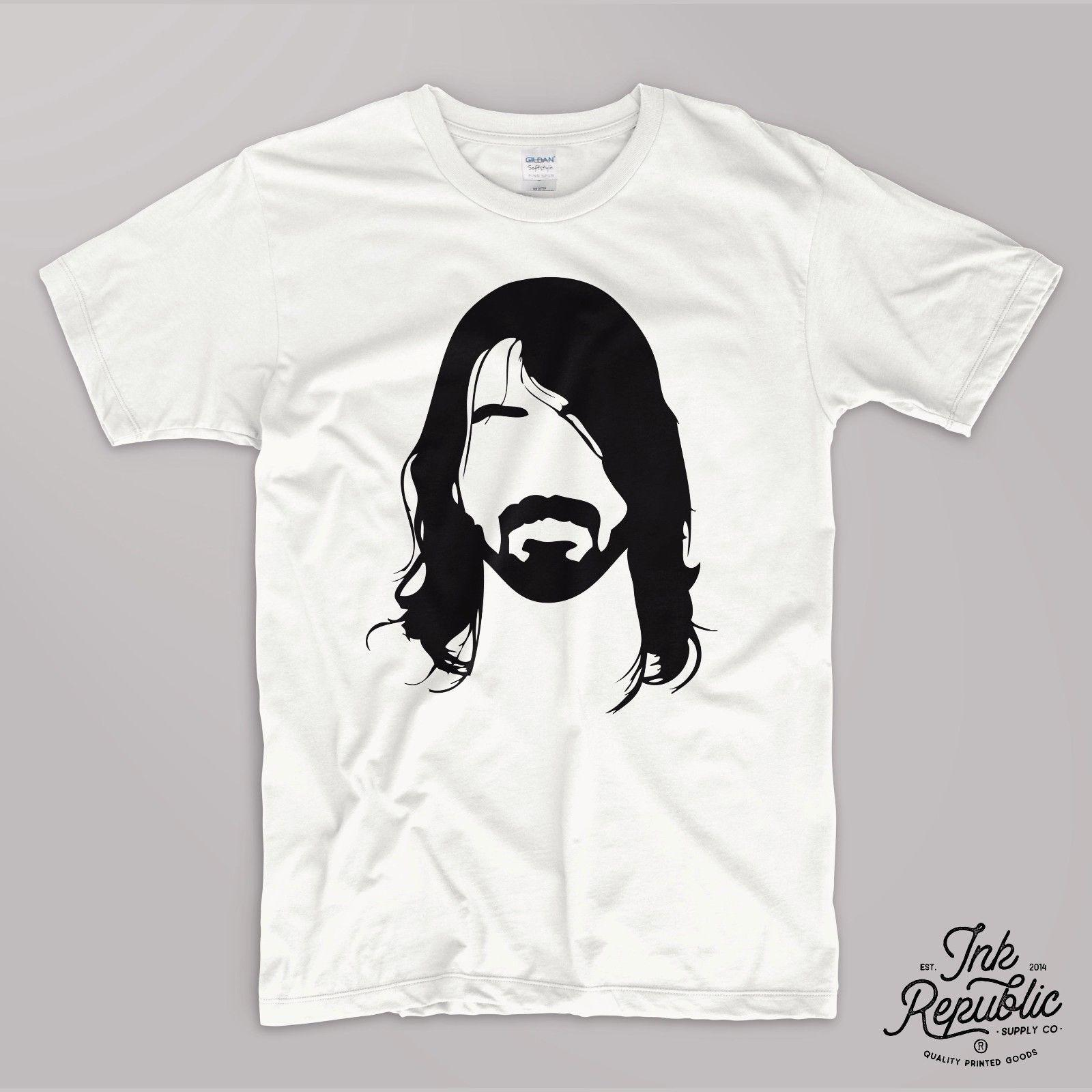 ed599e28c DAVE GROHL T SHIRT Tee Rock Legend Foo Fighters Tumblr Oversize Grunge Buy T  Shirt Designs Printing Tee Shirts From Designtshirt, $11.17| DHgate.Com