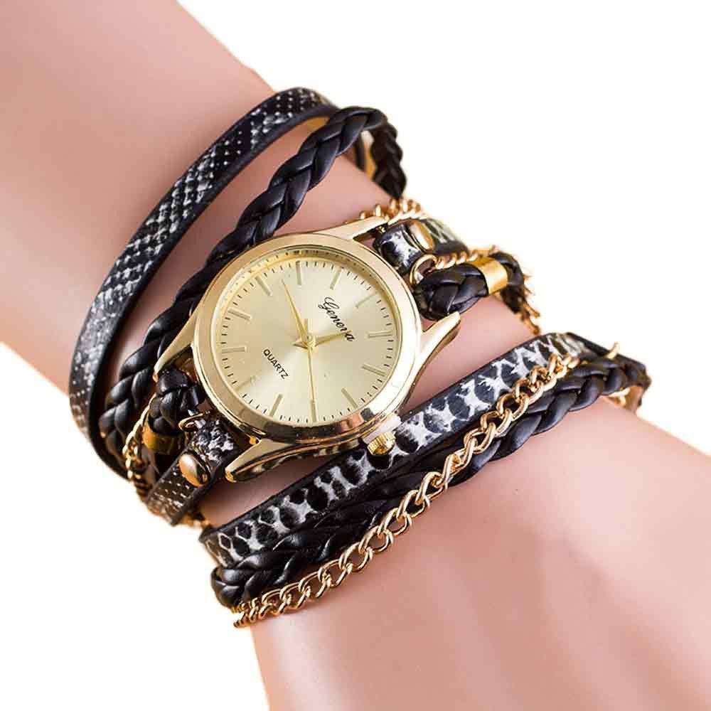 a6c21fddb2f2 Compre Relojes De Señora Relojes Mujeres Abrigo De Moda Alrededor Reloj De Pulsera  Reloj De Cadena De Cuero Sintético Reloj De Niña M.27 A  20.39 Del ...