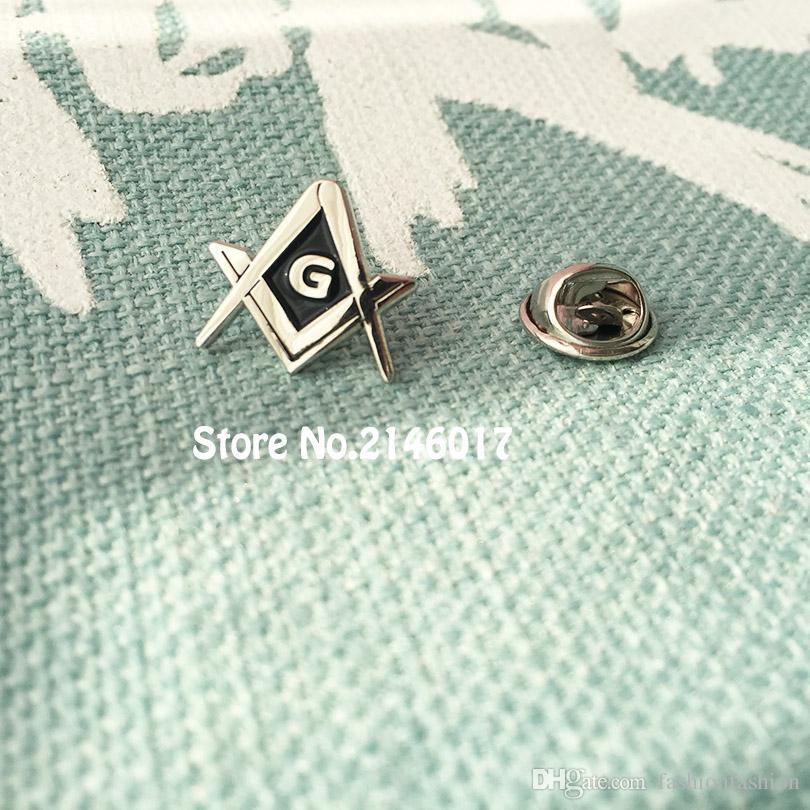 Freemason Master Masons Masonic Lapel Pins Metal Badge Square And ... 421982662c7d