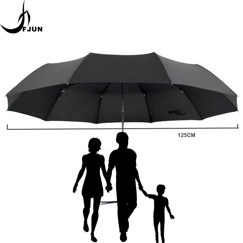 cc13a6b12 2019 2018 New Fully Automatic Umbrella Rain Women Men Business Umbrella  Super Large Strong Quality Windproof Folding Paraguas Male From Windomfac,  ...