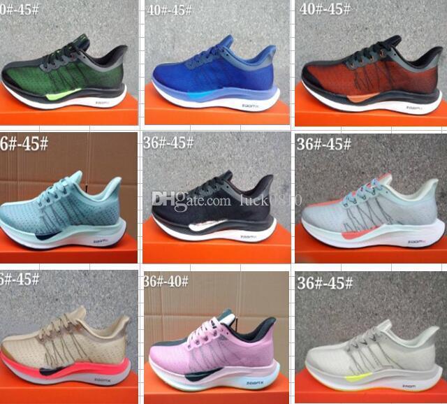 promo code a8291 55a16 Compre Zoom Pegasus Turbo 35 Zapatillas De Running Para Mujer Para Mujer  Rosa Originales 2018 Pegasus 35 Forro De Malla Neta Zapatillas De Deporte  ...