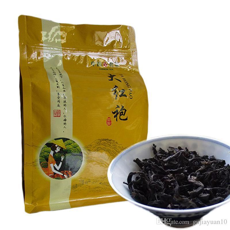 Предпочтительный 250г китайский Органический черный чай высшего сорта Большой красный халат Улун Красный чай Health Care New Приготовленный чай зеленый еды
