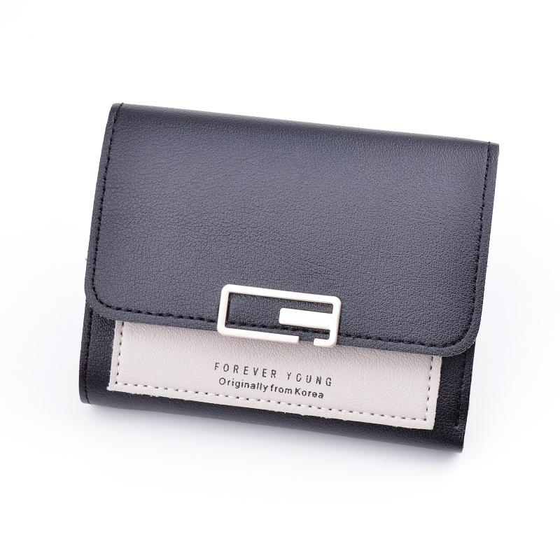 92302146942 Matte Leather Small Women Wallet Luxury Brand Famous Mini Women s Wallets  And Purses Short Female Coin Purse Credit Card Holder
