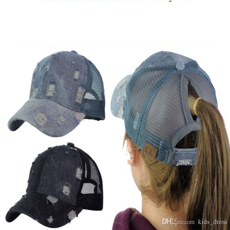 Cc Ponytail Hat Adjustable Mesh Trucker Baseball CC Cap Hat Distressed Mesh  Fashion Trucker Cap KKA4443 Mesh Baseball Cap Cc Ponytail Cap CC Hat Online  with ... a5f4b407dd4