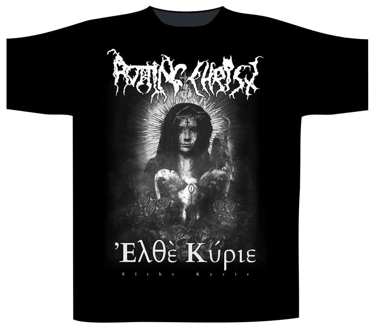 b67bdef56 Rotting Christ 'Elthe Kyrie' T Shirt NEW & OFFICIAL Really Funny ...
