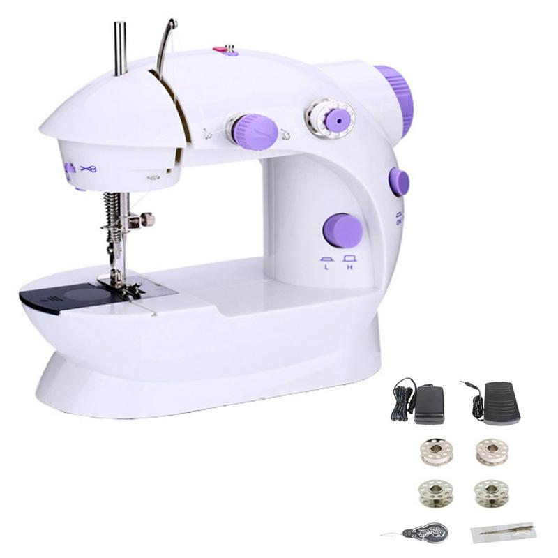 40 Mini Hand Foot Overlock Motor Sewing Machine Dual Speed Fascinating Hand Sewing Machine