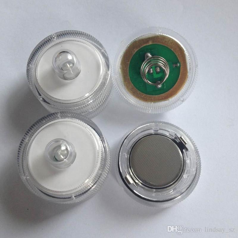 Led Sumergible Impermeable Decoración de La Boda Party Tea light envío rápido