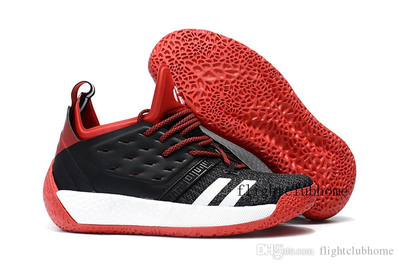 f8a2d0548363 ... 2018 new james harden vol.2 black red white basketball shoes mens  harden vol 2