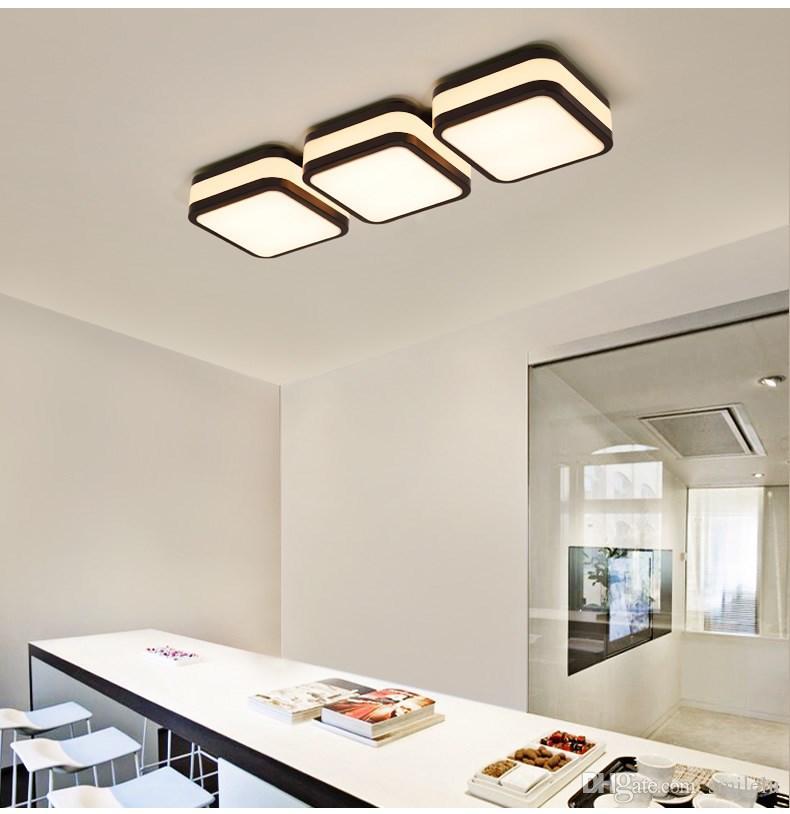 LED Deckenlampe Schlafzimmer Lampe warm und modern einfache Büro Studie  LED-Beleuchtung kreative Atmosphäre Wohnzimmer Dinging Room Deckenleuchten