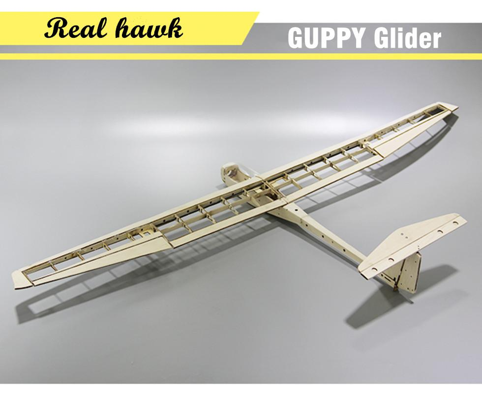 RC Plane Laser Cut Balsa Wood Airplane Kit Wingspan 1040mm GUPPY ...
