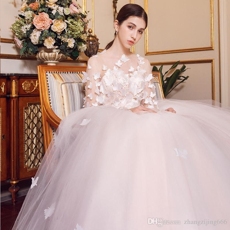 Wedding Dress 2018 New European And American Marriage Mori Qi Bride ...