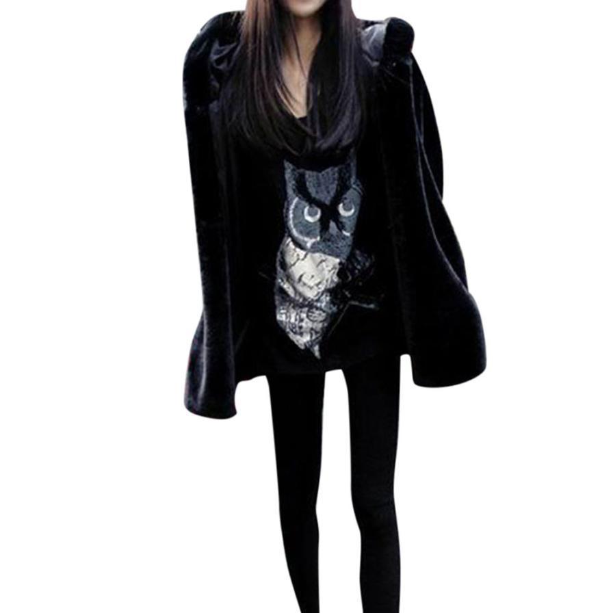 süß billig Fang damen New Ladies Womens Warm Faux Fur Coat Jacket Winter Parka Outerwear