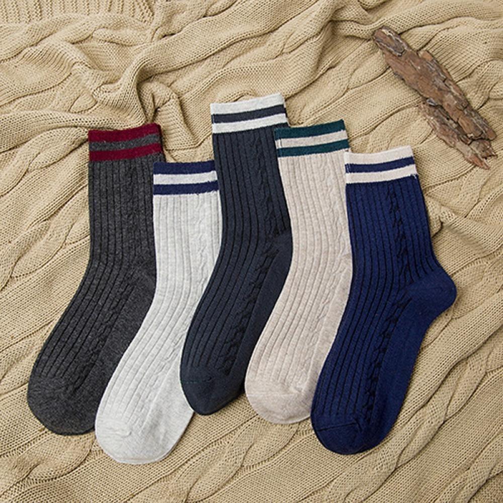 Efero 1pair Short Socks Art Funny Socks Men Calcetines Hombre Stripe Compression Colorful Socks For Male Dress Cotton Sock Meias Underwear & Sleepwears