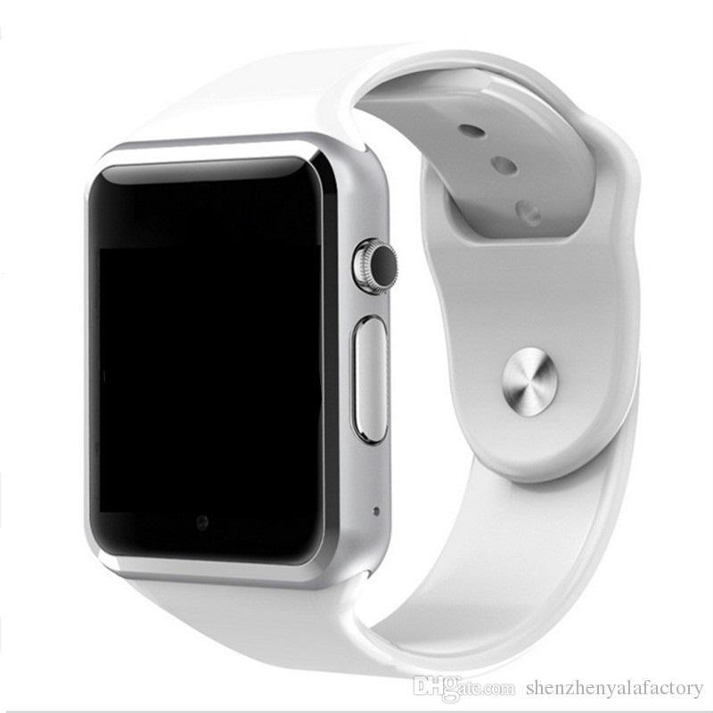 9514e25ae9e Compre 2018 Nova A1 Smart Watch Bluetooth Smartwatch Para Iphone Ios  Samsung Android Telefone Inteligente Relógio Inteligente Relógios  Esportivos De ...
